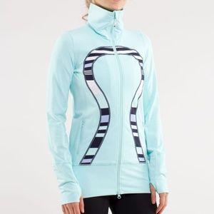 Lululemon Athletica size 4 In Stride Jacket Aqua